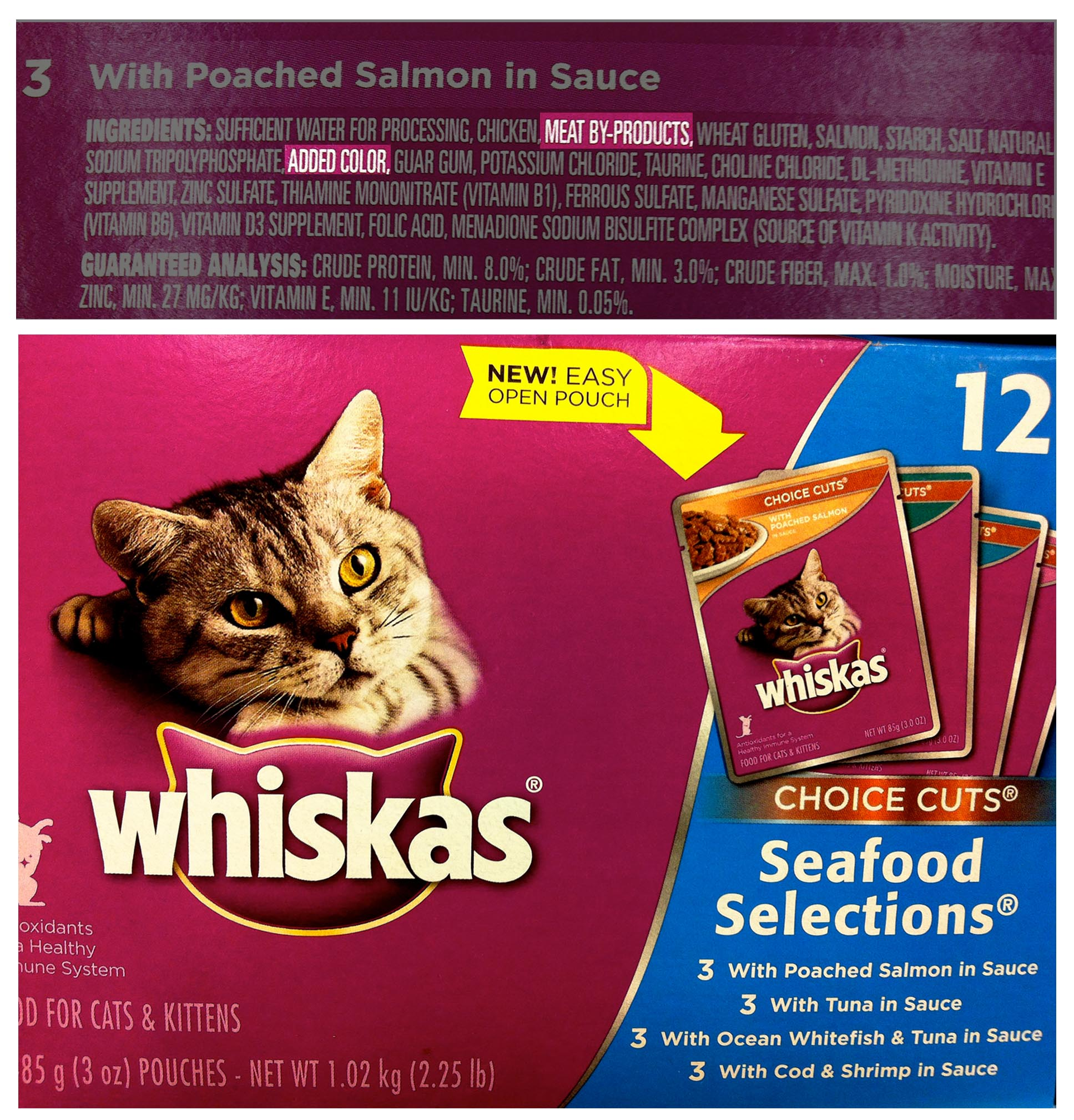 What Is Bha In Cat Food