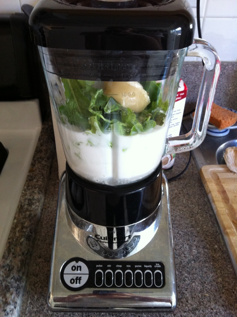 Green Coconut Smoothie Becauseitsgoodforyou.com