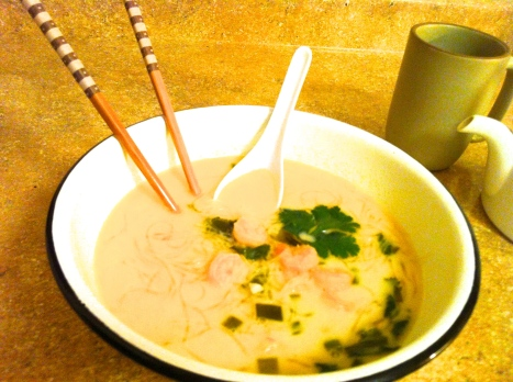 Kelp Noodle Soup with Coconut Becauseitsgoodforyou.com