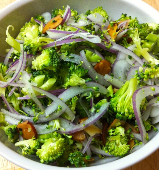 Broccoli Salad Becauseitsgoodforyou.com