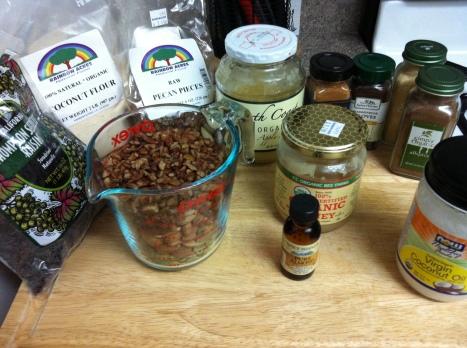 Healthy Granola Nut Cookies Becauseitsgoodforyou.com